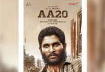 Allu Arjun #AA20 Fan made poster but looking real