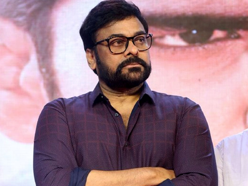 Chiranjeevi feeling Saaho helmer is best choice