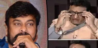 Comedian suicidal talk Chiranjeevi supports him