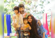 Gopichand Family Moment