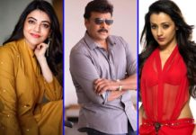 Gorgeous diva to replace Trisha in Chiranjeevi film