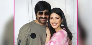 It's third time for Mass Maharaja and Shruti Haasan