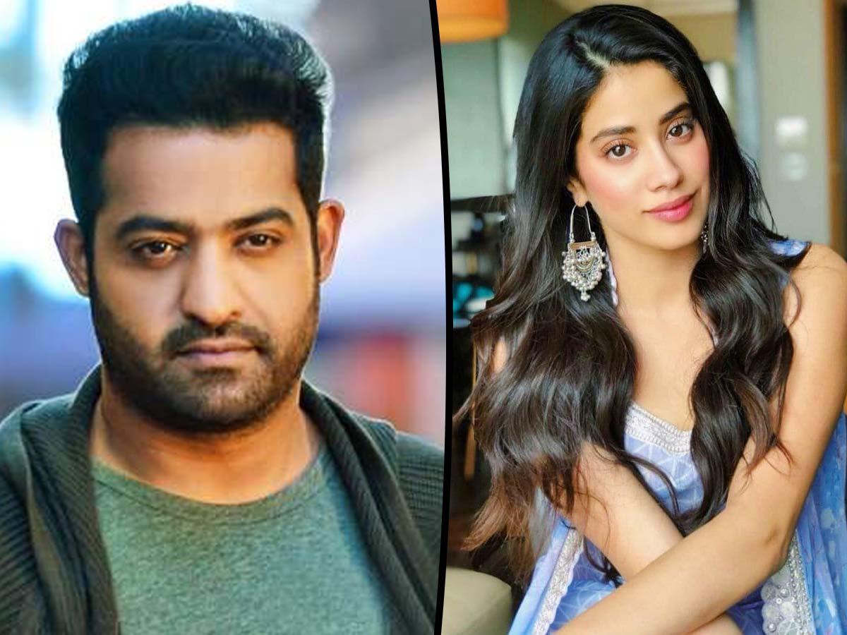 Jr NTR to romance Janhvi Kapoor in Ayinanu Poyi Ravale Hastinaku