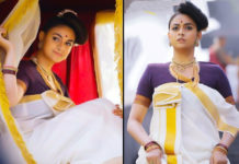 Keerthy Suresh Amazing Typical Malayali look