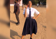 Lavanya Tripathi in school uniform!