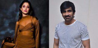 Milky Siren to romance Ravi Teja?