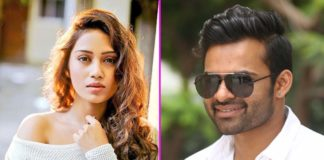 Nivetha Pethuraj locks for Sai Dharam Tej