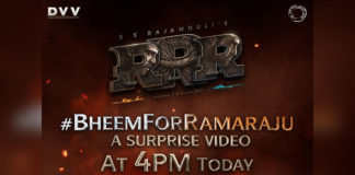 Special video of Ram Charan from RRR at this time