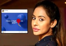 Sri Reddy I am still a virgin