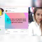 Sri Reddy: Movie stars eat lipstick more than food