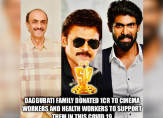 Suresh Productions donates Rs 1 Cr