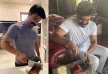 Upasana prepares birthday cake for Ram Charan