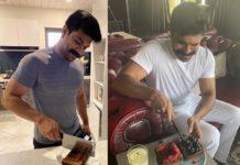 Upasana prepares birthday cake for Ram Charan