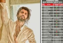 Vijay Deverakonda is Most Desirable Man 2019