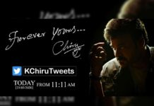 Chiranjeevi to join Twitter today at 11:11 am