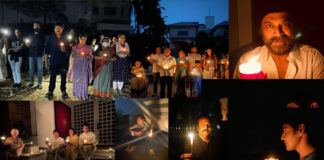 9 Baje 9 Minute: Tollywood bigwigs light candles and diyas after PM appeal
