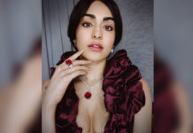 Adah Sharma says: Do this in room