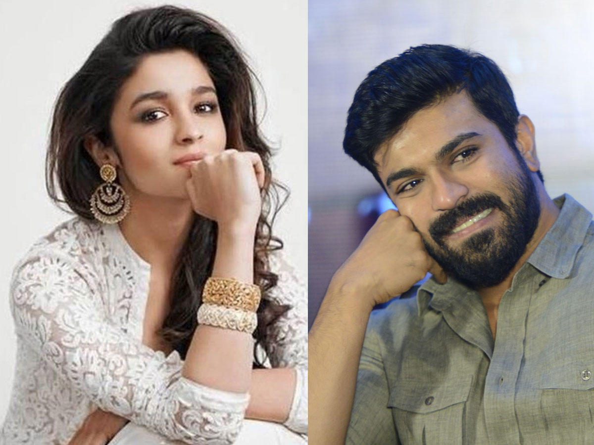 Alia Bhatt to commence song shoot with Ram Charan:  RRR