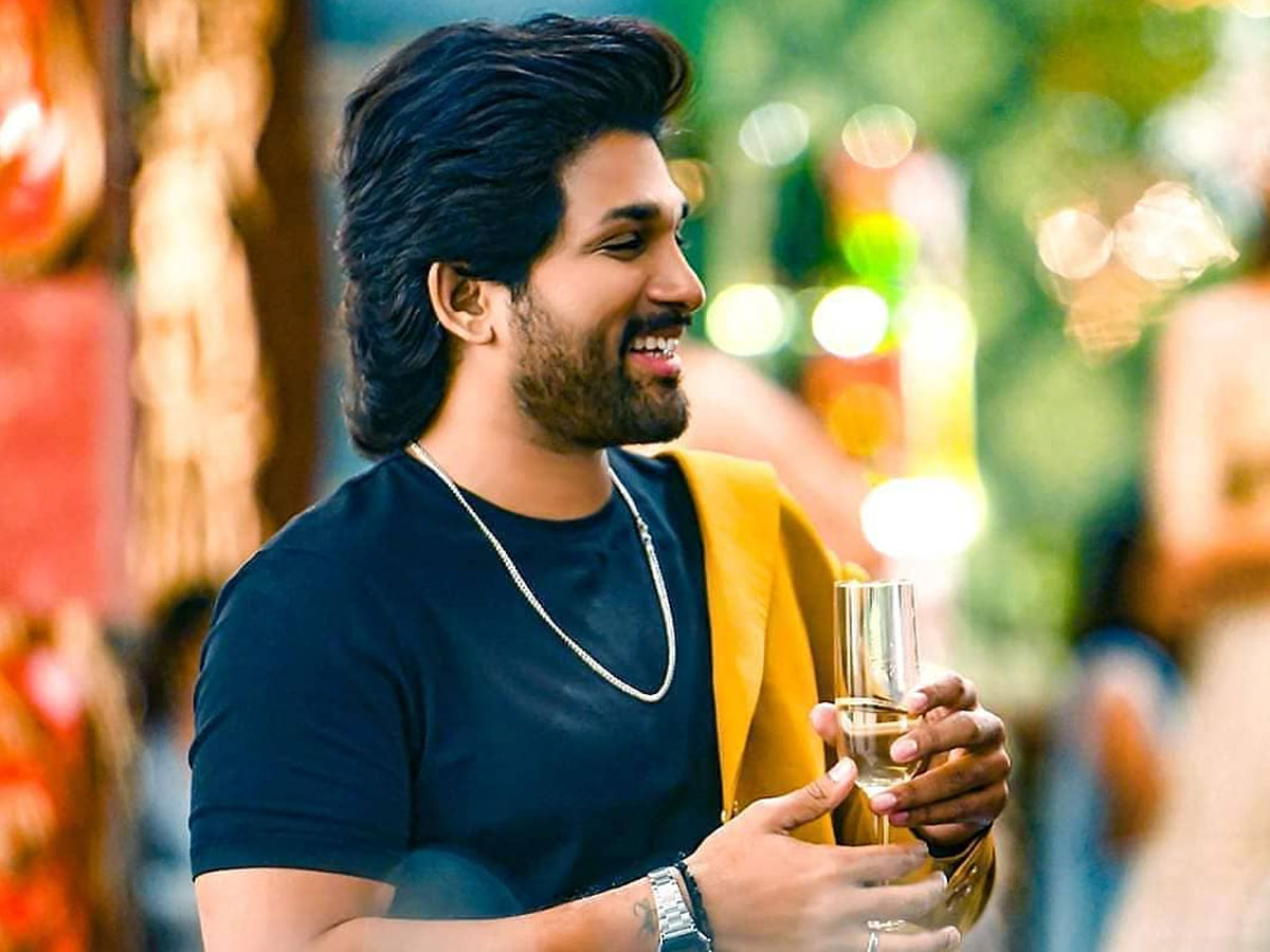 Allu Arjun birthday Mania ready to start: Few hours Left