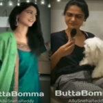 Allu Arjun wife Sneha shaking leg for Butta Bomma