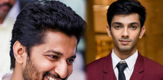 Anirudh thrice act with Nani