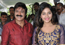 Anjali endless weeping and over emotional antics for Balakrishna?