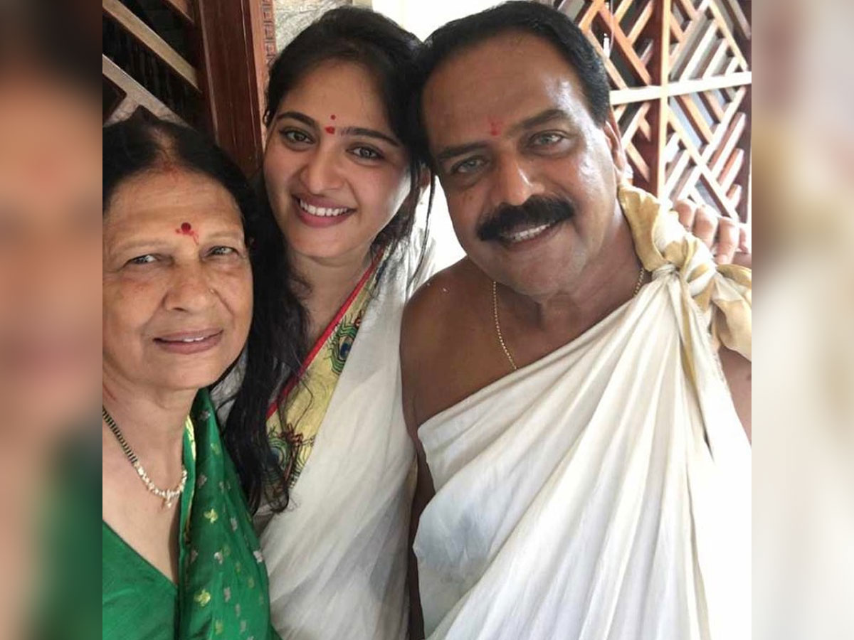 Anushka Shetty special message to Papa