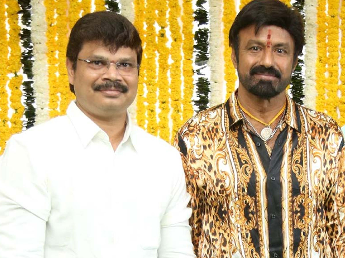 Boyapati and Balakrishna plan for Dussehra release