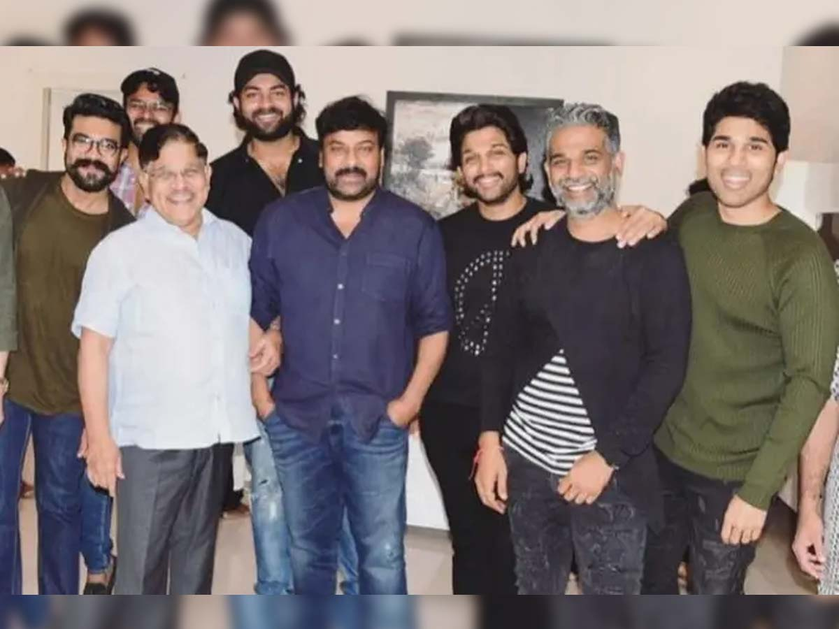 Chiranjeevi responds on difference with Allu family