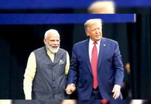 Donald Trump says, Modi is Great