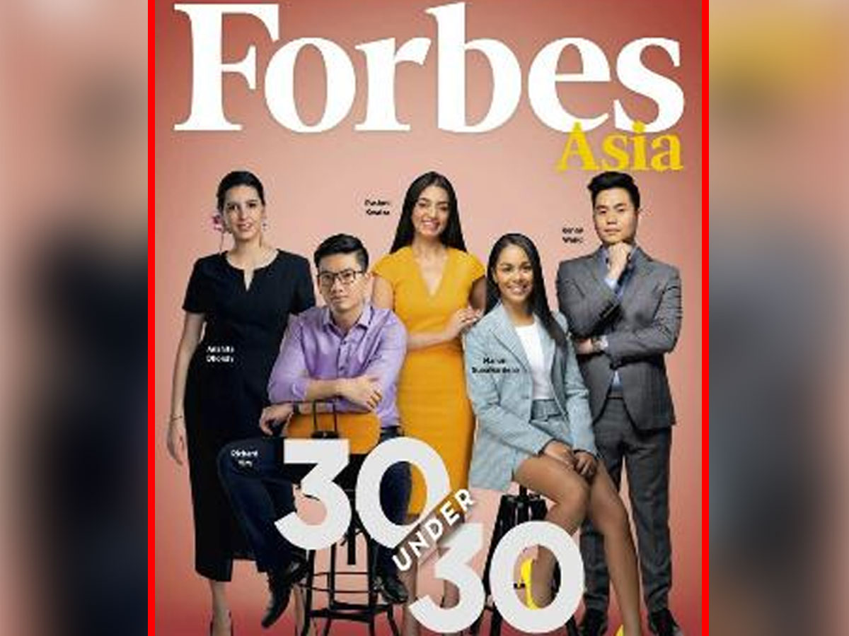Five Hyderabadis In Forbes 30 Under 30 Asia
