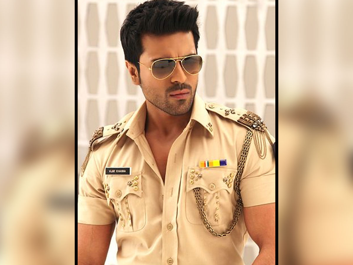 Is Ram Charan playing the role of cop again?
