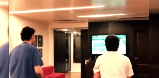 Mahesh Babu game night with Gautam
