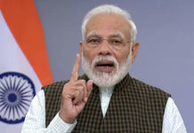 Narendra Modi calls for 9 Minute Switching off Lights