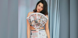 Payal Rajput breaking page 3 news outfit