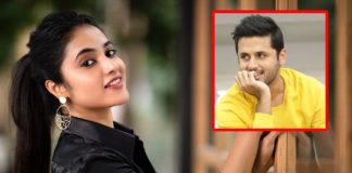 Priyanka Arul Mohan catchy bold scenes with Nithiin?