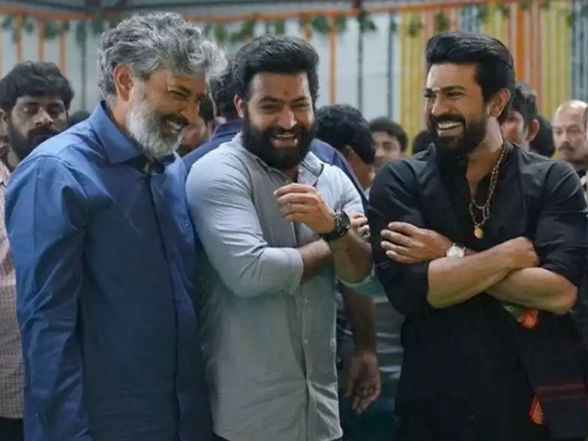 RRR  is about friendship, says Rajamouli
