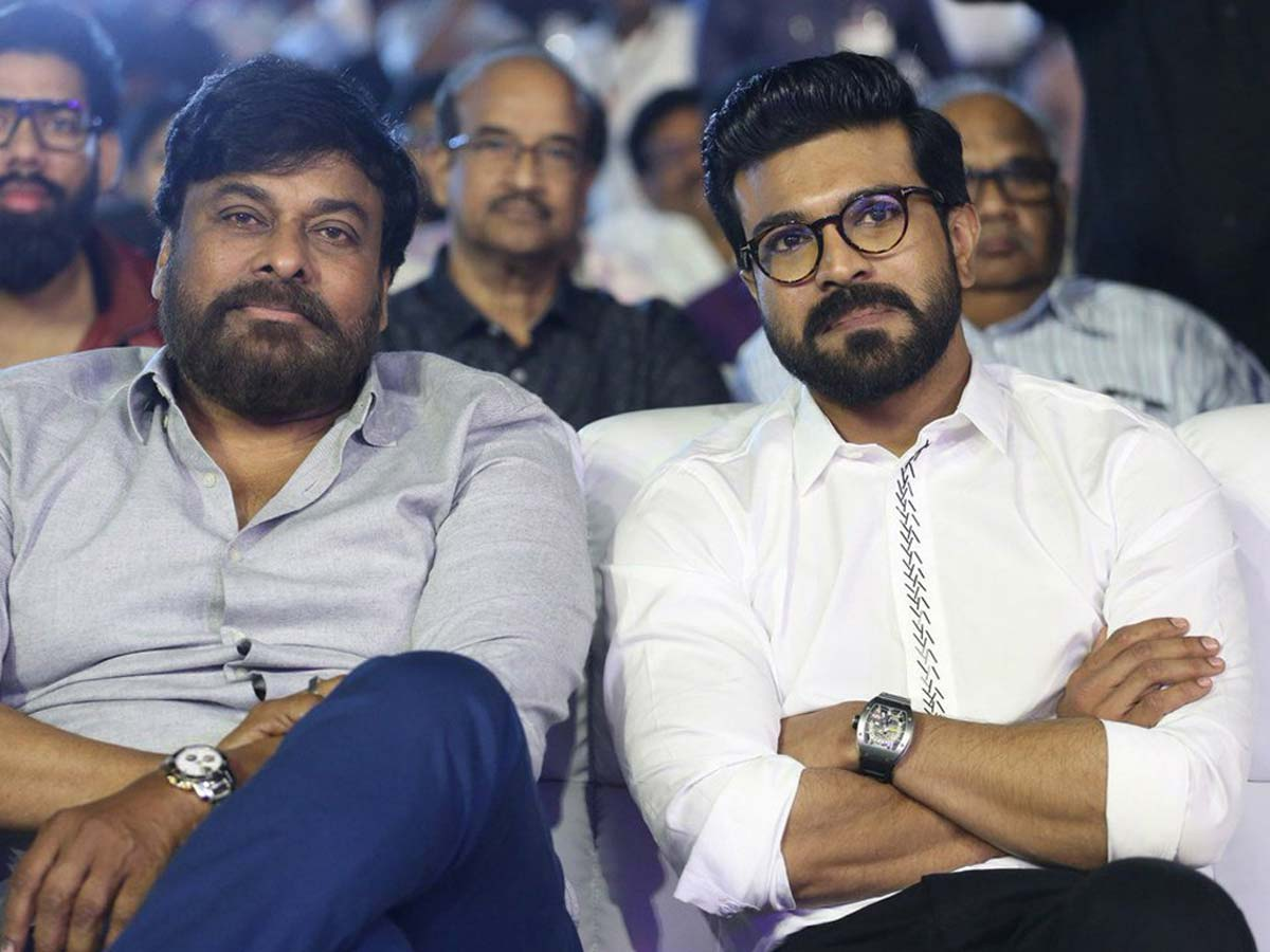 Chiranjeevi opens up about Charan's role