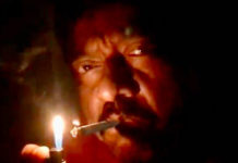 Ram Gopal Varma lights cigarette instead of diya