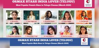 Samantha and Mahesh Babu top the list