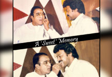 A Sweet Memory! Chiranjeevi tweet on NTR
