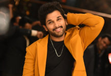 Allu Arjun saying safety first!
