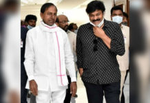 Chiranjeevi thanks KCR