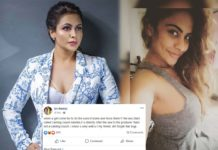 Don't forget that Bujji! Sri Reddy fires on Nandini Rai