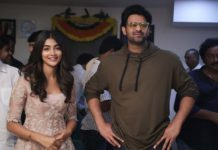 Glimpse of Prabhas, Not First Look