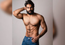 Kartikeya unshockable 6 pack abs