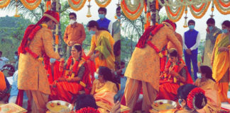 Nikhil and Pallavi are married now