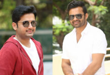 Nithiin and Sai Dharam Tej are front liners