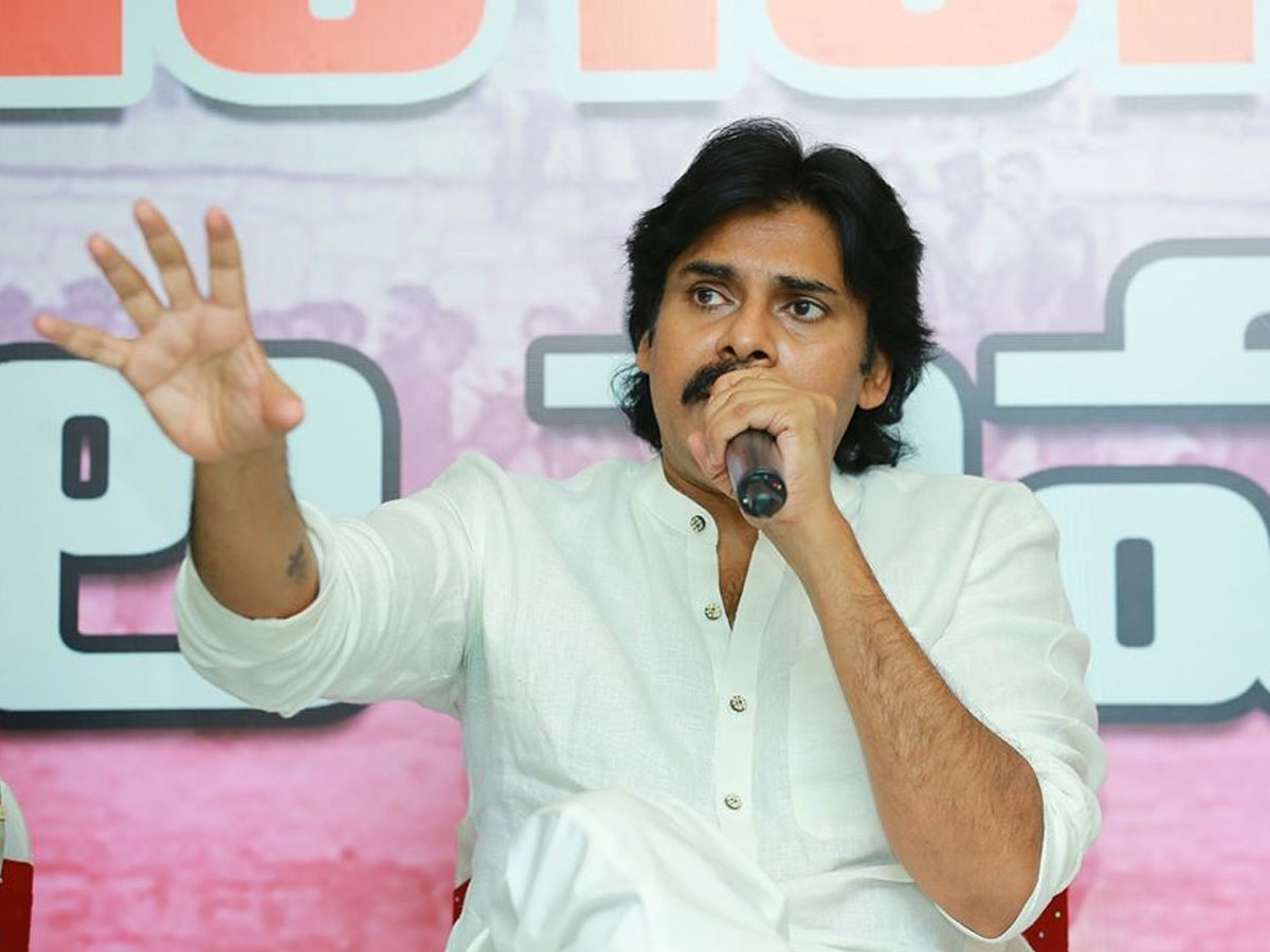 Pawan Kalyan responds on Naga Babu Godse Comments