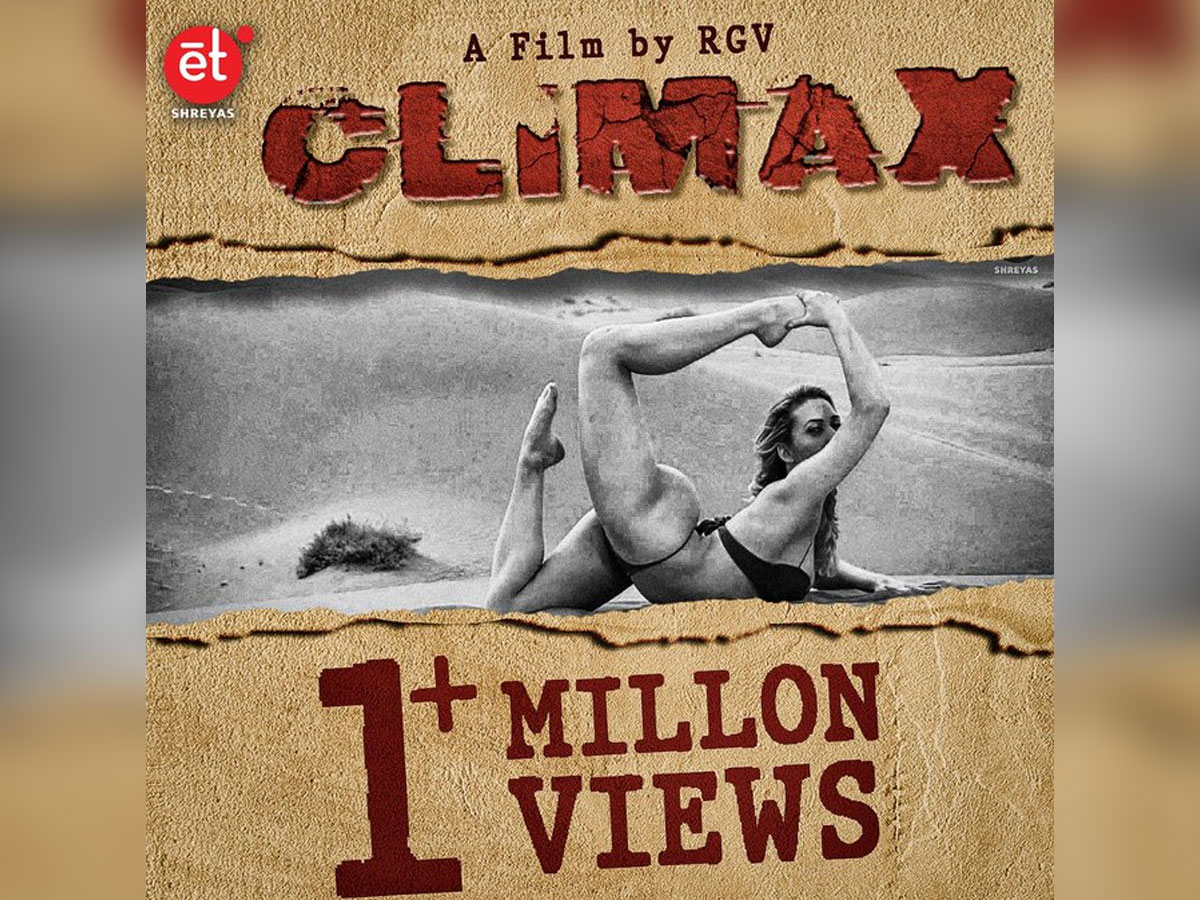 RGV releasing Climax Teaser Promo of A Music Video Today